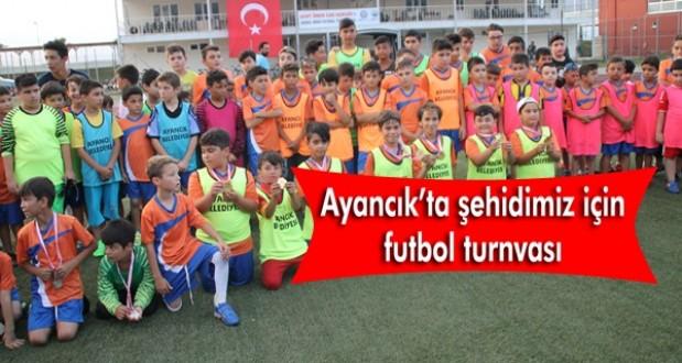 15 Temmuz şehidimiz için futbol turnuvası