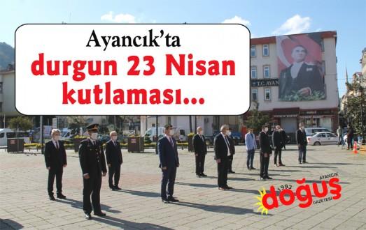 23 Nisan Ulusal Egemenlik ve Çocuk Bayramı çelenk sunma töreni