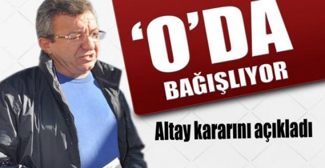 Altay; Organlarımı bağışlayacağım