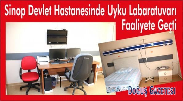 Atatürk Devlet Hastanesinde Uyku Laboratuvarı Faaliyete Geçirildi