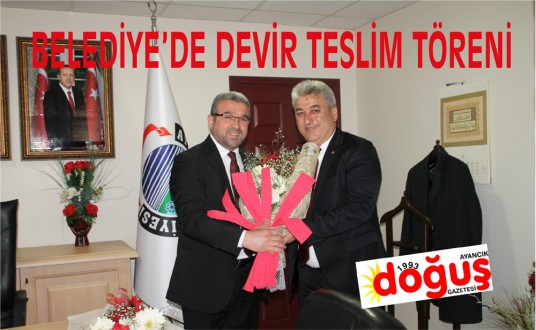 Ayancık Belediye Başkanlığında Devir Teslim Töreni Yapıldı