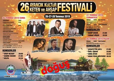 Ayancık'ta Festival Hazırlıkları Tamamlandı.