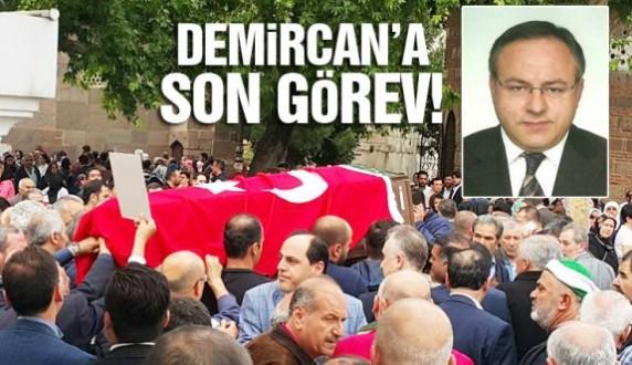Ayancıklı Prof. Dr. Sedat Demircan Son yolculuğuna uğurlandı