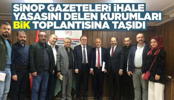 BİK Genel Müdürü ile Samsun'da Basın Toplantısı