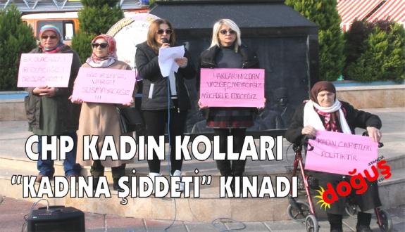 CHPli kadınlar şiddeti kınadı