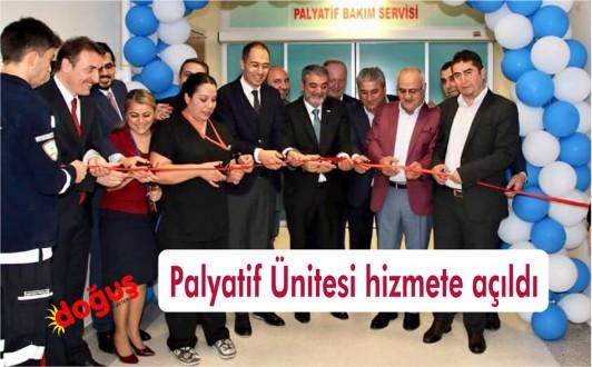 Devlet Hastanesinde Palyatif Ünitesi hizmete açıldı