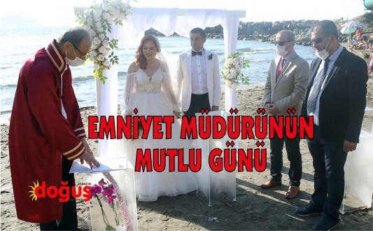 Emniyet Müdürü Akgün'ün mutlu günü