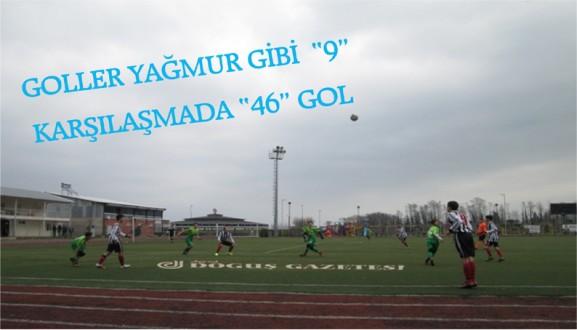 """GOLLER YAĞMUR GİBİ  """"9"""" KARŞILAŞMADA """"46"""" GOL"""