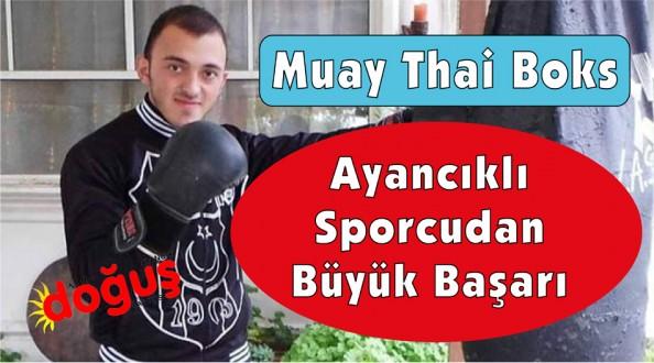 Hemşehrimiz Muay Thai Boks'ta başarıya doymuyor