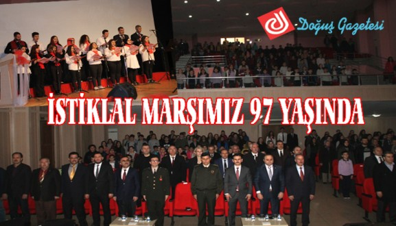 İSTİKLAL MARŞIMIZ 97 YAŞINDA