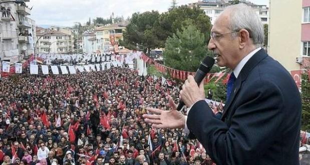 Kemal Kılıçdaroğlu Boyabat'tan seslendi
