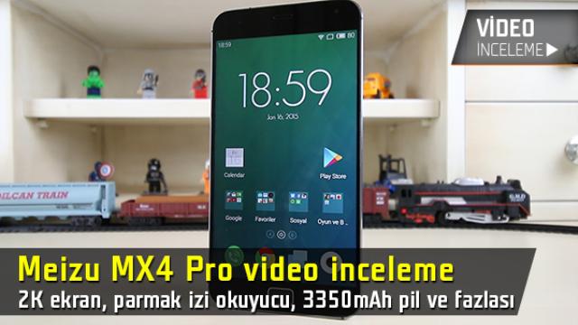 Meizu MX4 Pro inceleme videosu