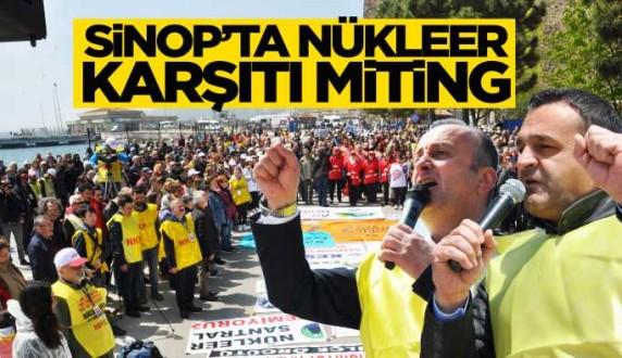 NKP'den nükleere hayır mitingi