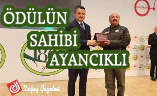OGM 2018 Yılının En'leri Ödül Sahibi Ayancık'tan