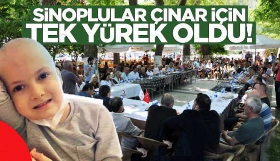 Sinop, Çınar için tek yürek oldu