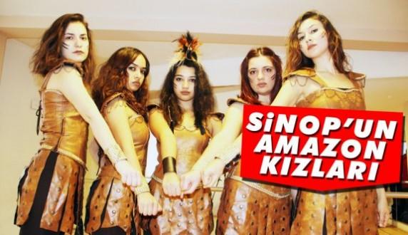 Sinopun tanıtımını Amazon Kızlar yapacak