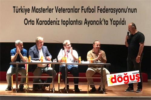 TÜRKİYE MASTERLER VETERANLAR FUTBOL FEDERASYONU BAŞKANI KENAN GÜRSÜ İLÇEMİZDE