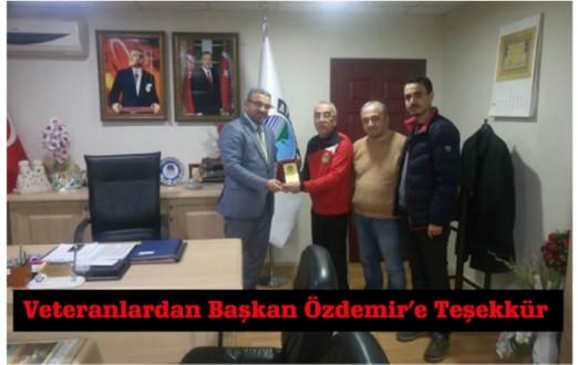 Veteranlardan Başkan Özdemir'e Teşekkür